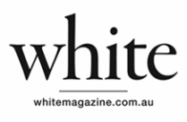 Image result for white magazine logo