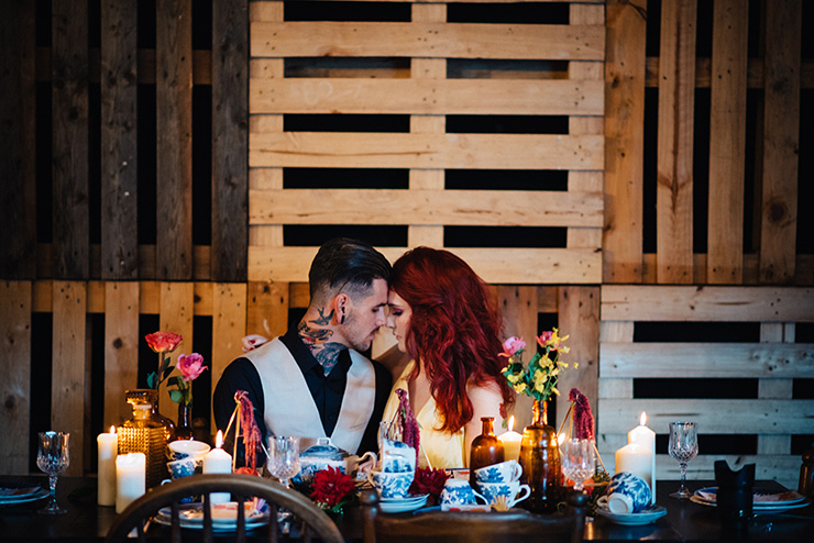 Eclectic-Fiesta-Engagement-Party-Inspiration-Couple