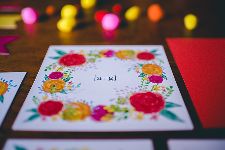 Eclectic-Fiesta-Engagement-Party-Inspiration-Stationery-3