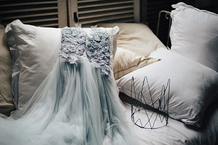 Whimsical-Wedding-Inspiration-in-Shades-of-Blue-Dress-2